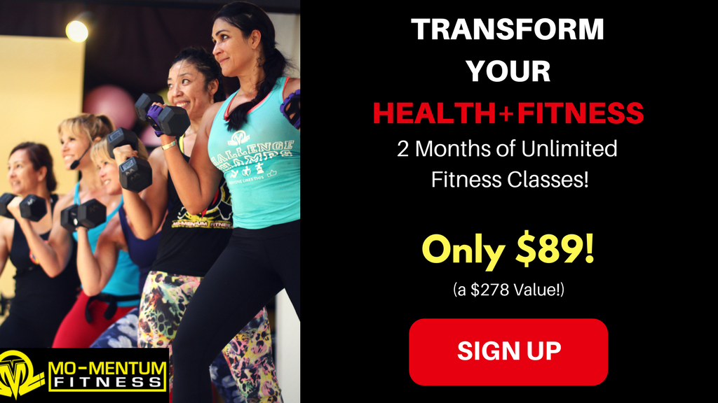 $89 for 2-months of unlimited group fitness