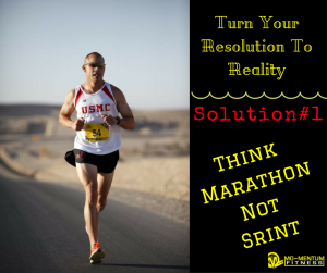 Think Marathon Not Sprint